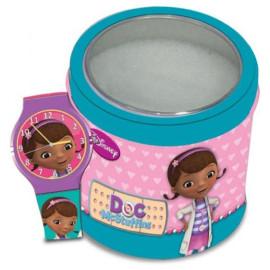 WALT DISNEY KID WATCH Mod. DOC MCSTUFFINS (Dott.essa Peluche) - Tin Box