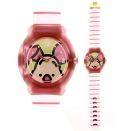DISNEY SNAP (Fossil Group) Mod. SWEET LITTLE PIGLET - KID CLIP WATCH