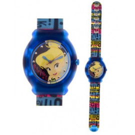 DISNEY SNAP (Fossil Group) Mod. TINKER BELL - KID CLIP WATCH