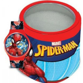 MARVEL KID WATCH Mod. SPIDERMAN  - Tin Box