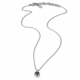 SWATCH BIJOUX JEWELRY Mod. CRYSTAL SOUL PENDENT.  BLACK CRYSTAL