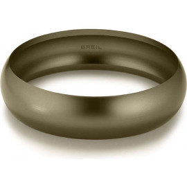 BREIL JEWELS SECRETLY Bracciale Bangle alluminio marrone/Bangle Bracelet brown aluminum Size Jumbo