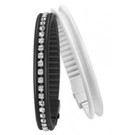 HIP HOP BIJOUX Mod. BLACK & WHITE Bracciale/Bracelet