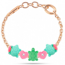 MORELLATO GIOIELLI COLOURS COLLECTION -  Bracelet TURTLE HEART CHARMS