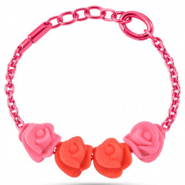 MORELLATO GIOIELLI COLOURS COLLECTION -  Bracelet ROSE CHARMS