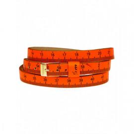 Il MEZZOMETRO Mod. FLUO - Bracciale in pelle/leather bracelet